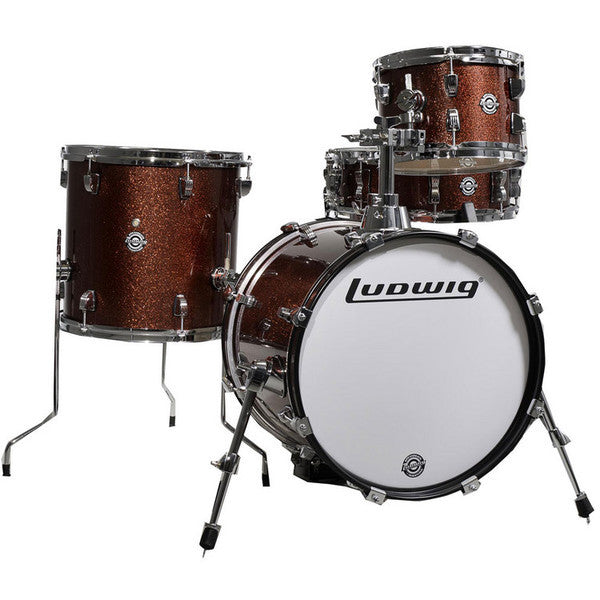 Ludwig Drums - Breakbeat by Questlove 4 Piece Drum Kit - Quest Music Store