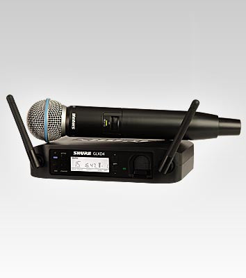 Shure GLXD24/BETA58A Handheld Wireless System - Quest Music Store