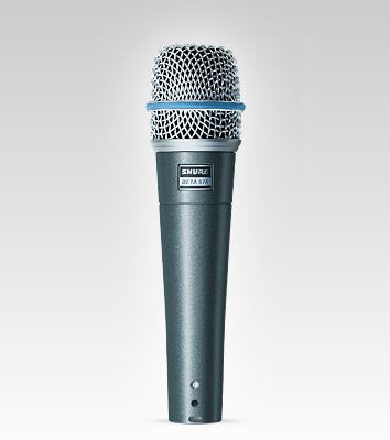 Shure Beta57A Handheld Dynamic Microphone - Quest Music Store