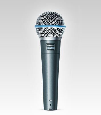 Shure Beta58A Handheld Dynamic Microphone - Quest Music Store