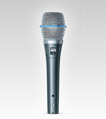 Shure Beta87A Vocal Microphone - Super-Cardioid - Quest Music Store