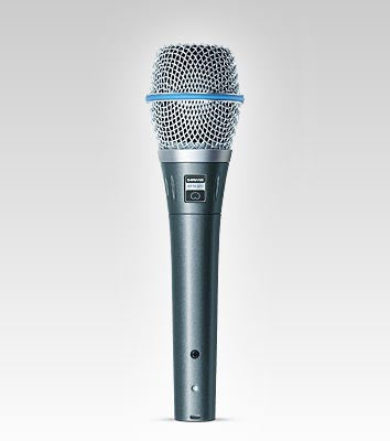 Shure Beta87C Vocal Microphone - Cardioid