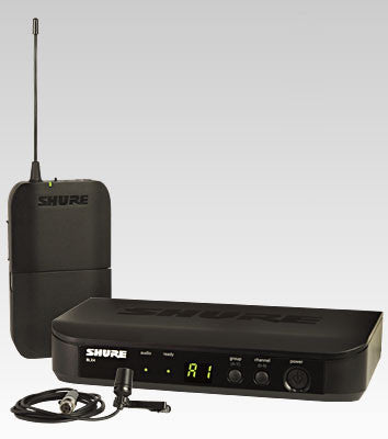 Shure BLX14/CVL Lavalier Wireless System - Quest Music Store
