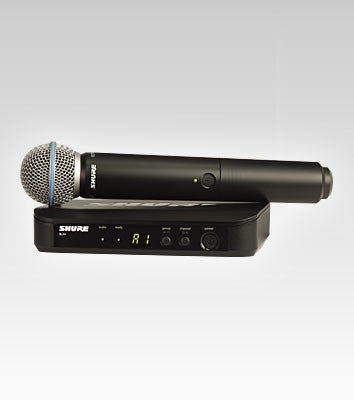 Shure BLX24/B58 Handheld Wireless System - Quest Music Store
