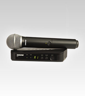 Shure BLX24/PG58 Handheld Wireless System - Quest Music Store