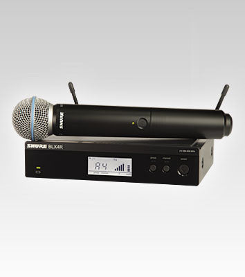 Shure BLX24R/B58 Handheld Wireless System - Quest Music Store