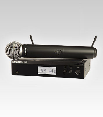Shure BLX24R/SM58 Handheld Wireless System - Quest Music Store