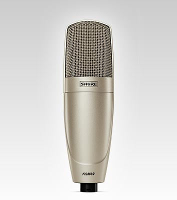 Shure KSM32 Embossed Single-Diaphragm Microphone - Quest Music Store