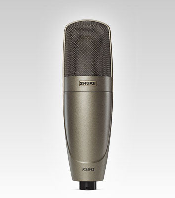 Shure KSM42 Large Dual-Diaphragm Vocal Microphone - Quest Music Store