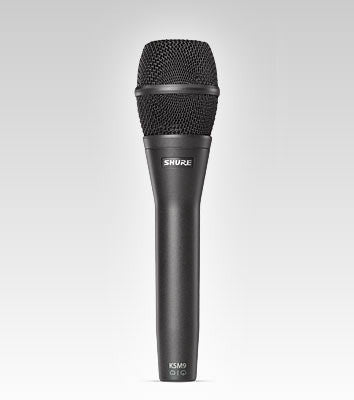 Shure KSM9 Handheld Vocal Microphone - Quest Music Store