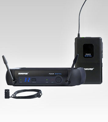 Shure PGXD14/85 Lavalier Wireless System - Quest Music Store