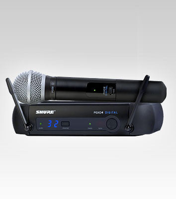 Shure PGXD24/PG58 Handheld Wireless System - Quest Music Store