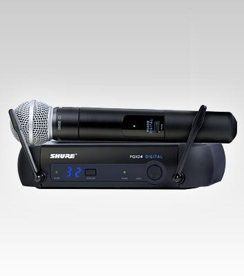 Shure PGXD24/SM58 Handheld Wireless System - Quest Music Store