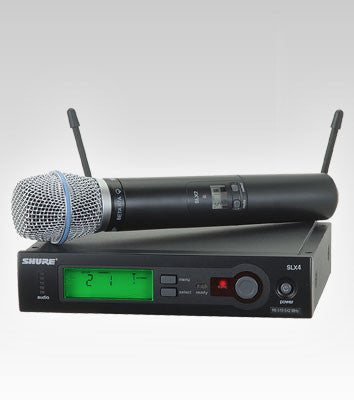 Shure SLX24/BETA87A Handheld Wireless System - Quest Music Store