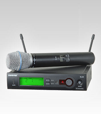 Shure SLX24/BETA87C Handheld Wireless System - Quest Music Store