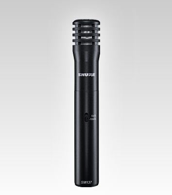 Shure SM137 Instrument Microphone - Quest Music Store
