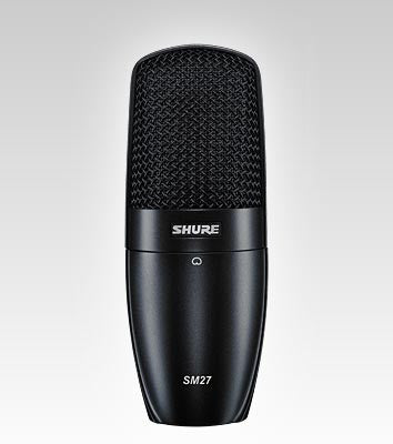 Shure SM27 Multi-Purpose Microphone - Quest Music Store