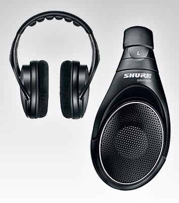 Shure SRH1440 Professional Headphones - Open Back - Quest Music Store
