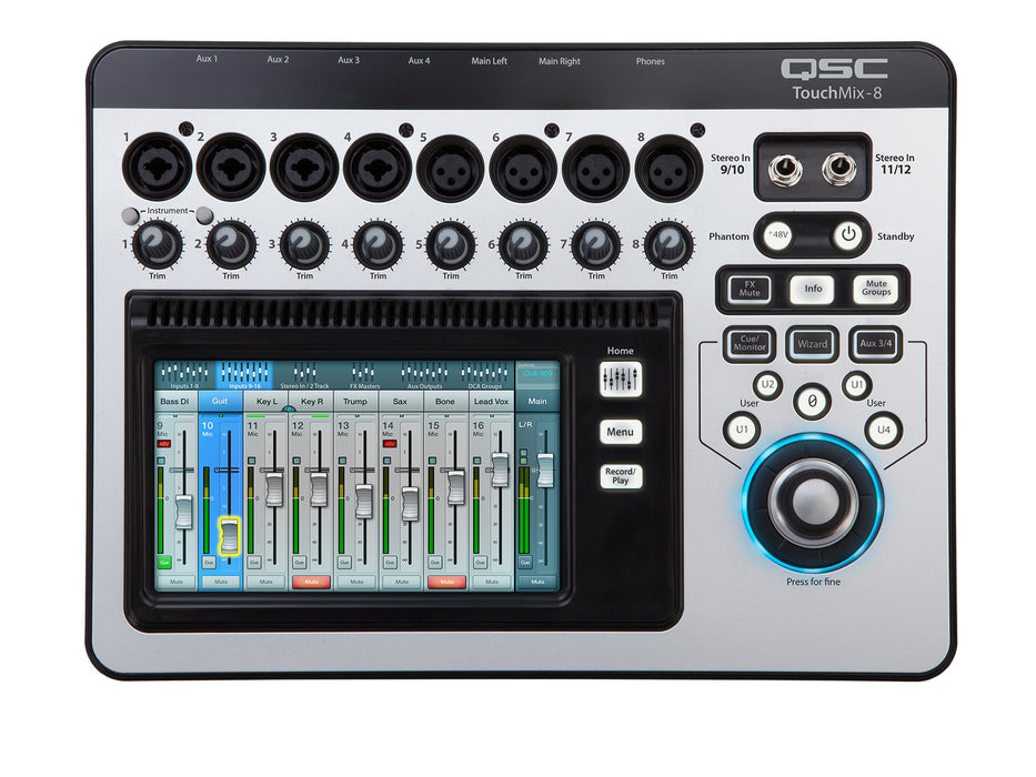 QSC Touchmix - 8 Channel Digital Mixer