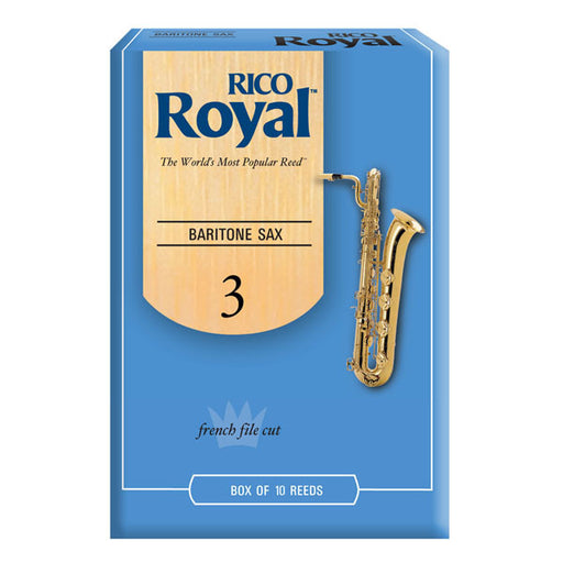 Rico Royal Baritone Saxophone Reeds - Quest Music Store