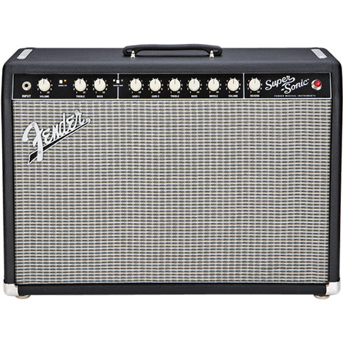 Fender Super-Sonic 22 Guitar Combo, Black
