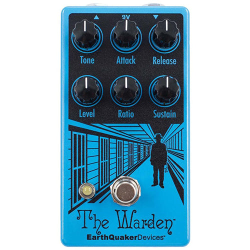 EarthQuaker The Warden Optical Compressor V2 - Quest Music Store
