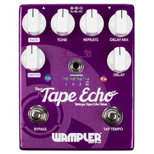Wampler Pedals - Faux Tape Echo Delay v2