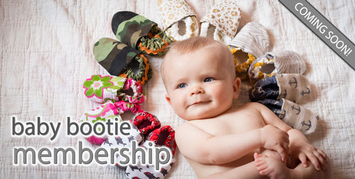 Learn more about the LilSkeeterz baby bootie membership!