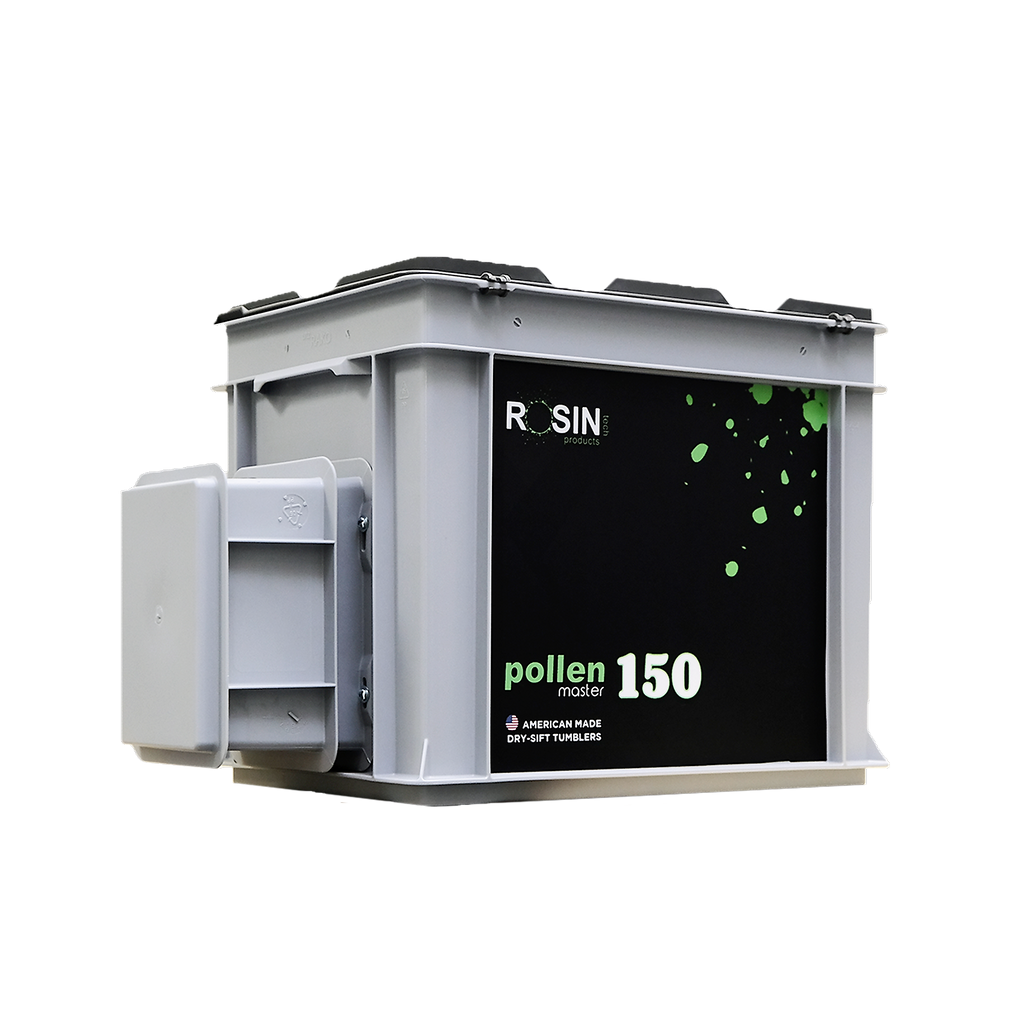 PollenMaster 150, Pollen Extractor by Rosin Tech Products available at rosintechproducts.com
