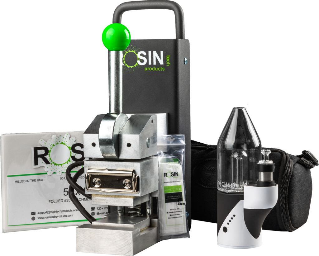 Rosin Tech Go Focus V Carta Rosin Press solventless extraction smart rig combo kit