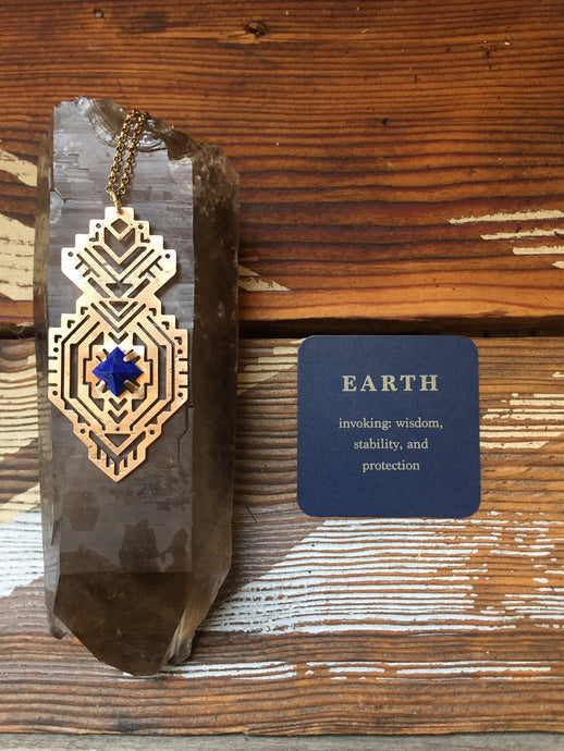 EARTH Element Pendant