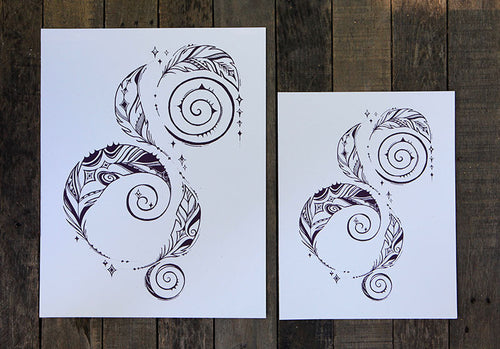 AIR Element Print - Ways of the Wind