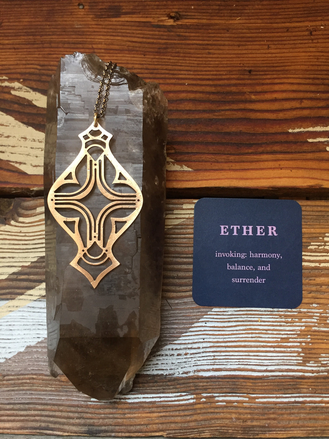 ETHER Element Pendant