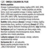 Omega-3 Salmon Oil Plus, žuvų taukai