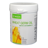 Wheat Germ Oil, maisto papildas su vitaminu E