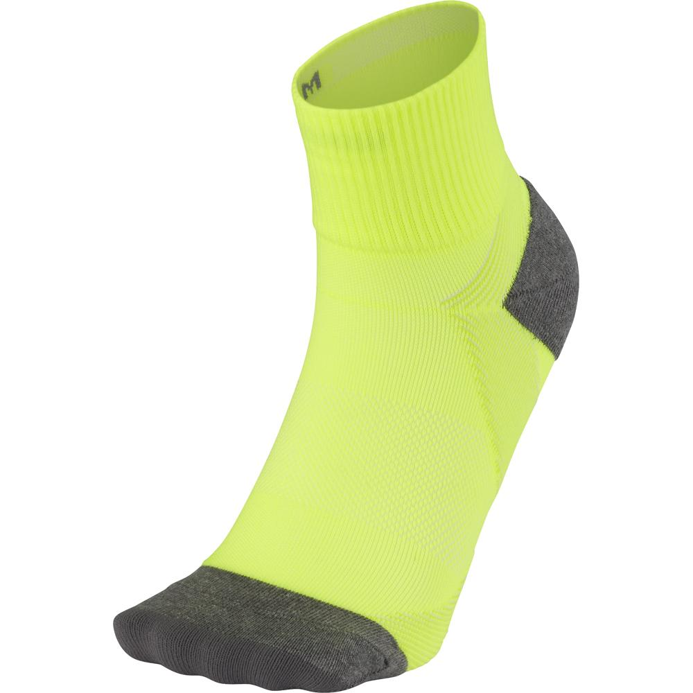 ARCH SUPPORT QUARTER SOCKS BLACK