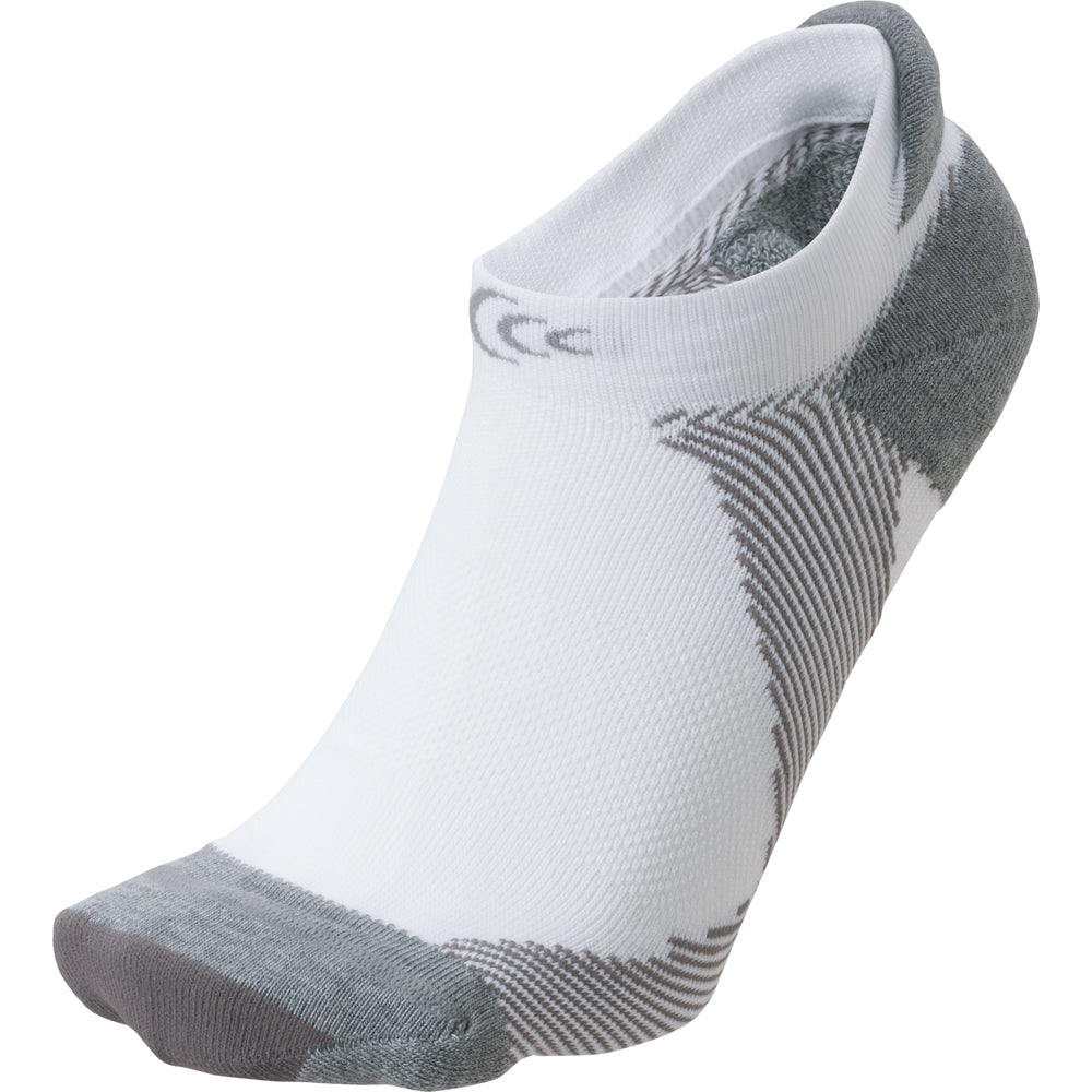 ARCH SUPPORT SHORT SOCKS WHITE x GRAY