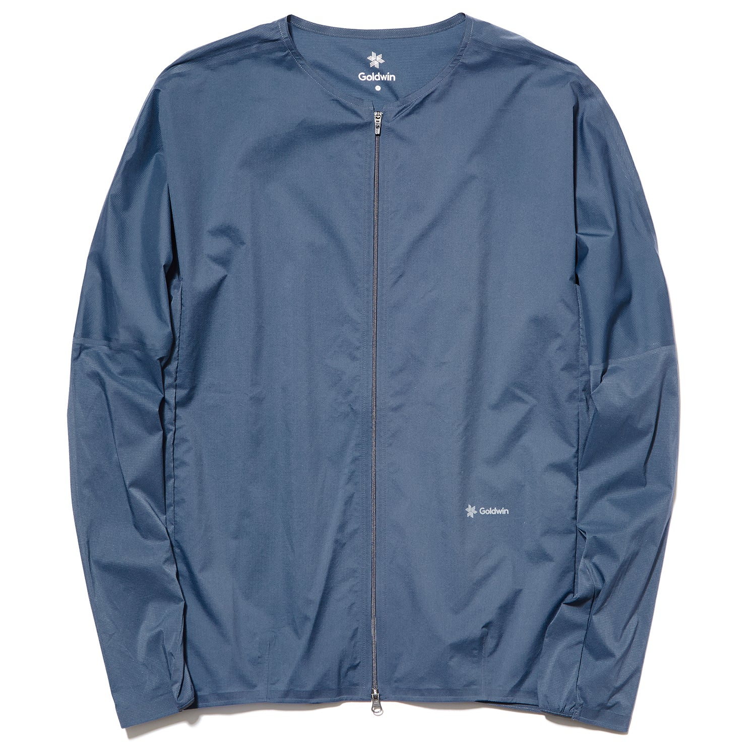 WOVEN COMPACT JACKET GRAPHITE NAVY
