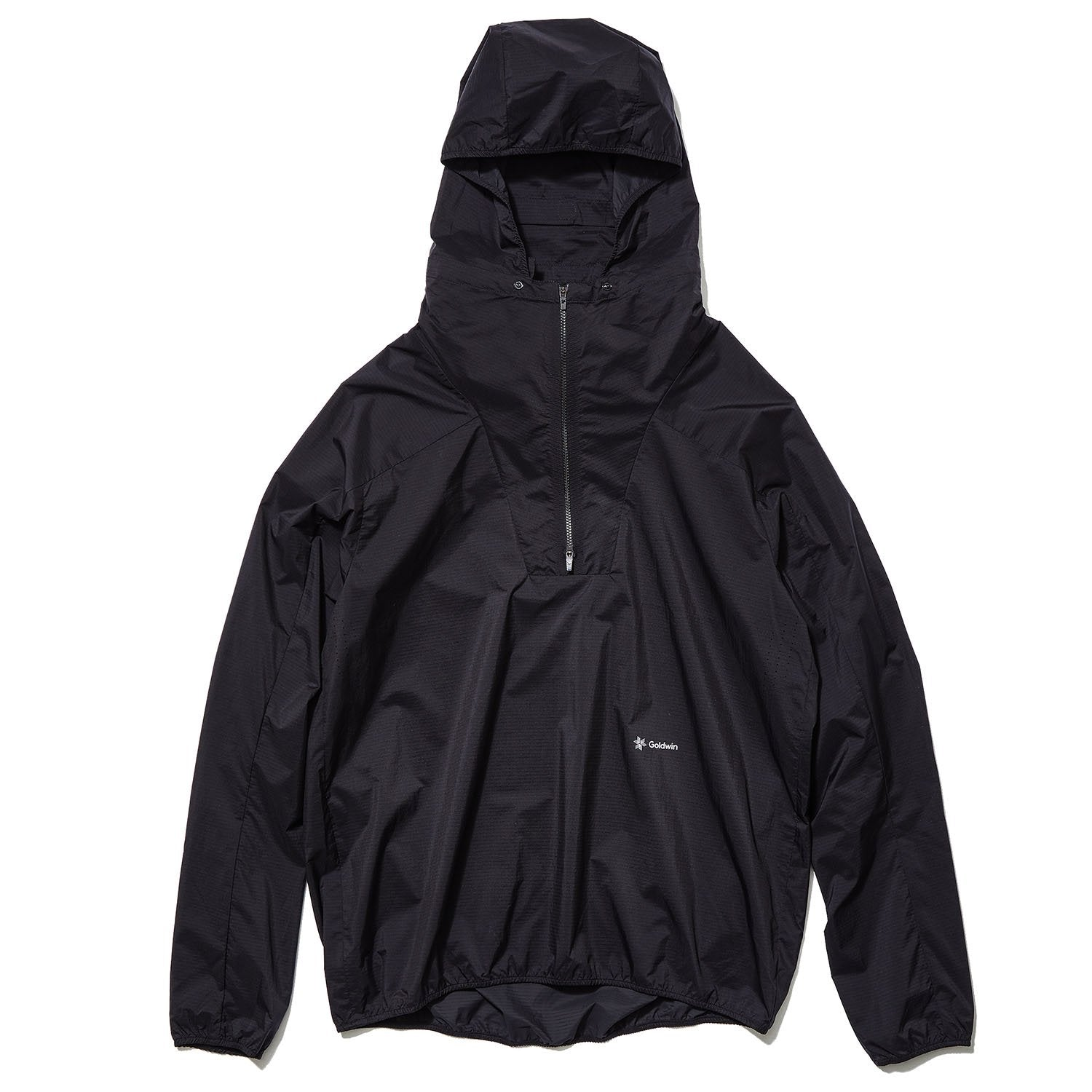 PACKABLE WOVEN JACKET BLACK
