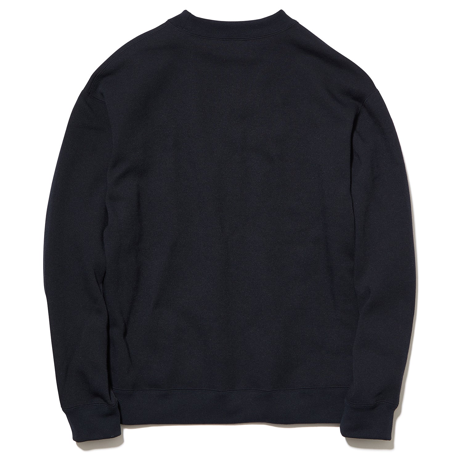 JOG CREW NECK SWEATSHIRT BLACK