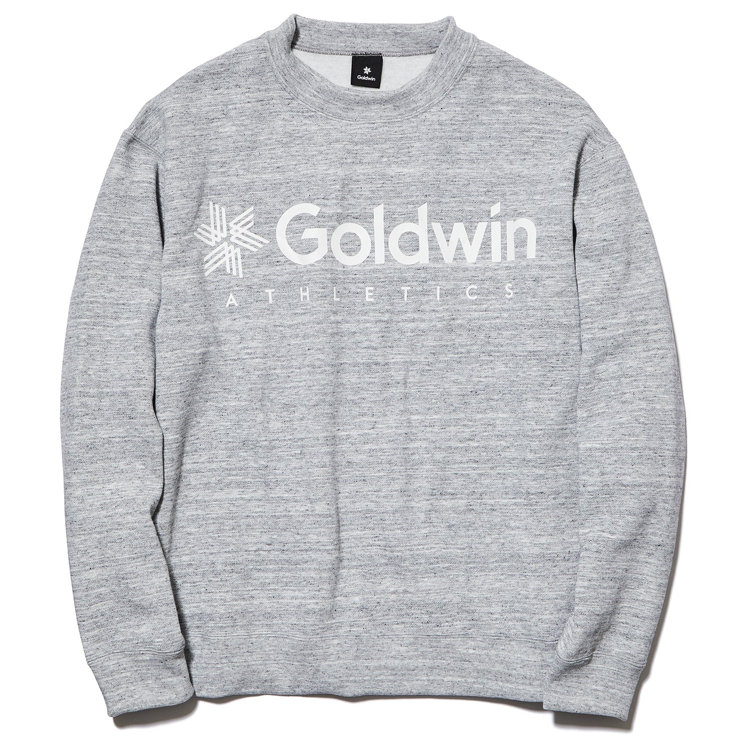 JOG CREW NECK SWEATSHIRT HEATHER GRAY