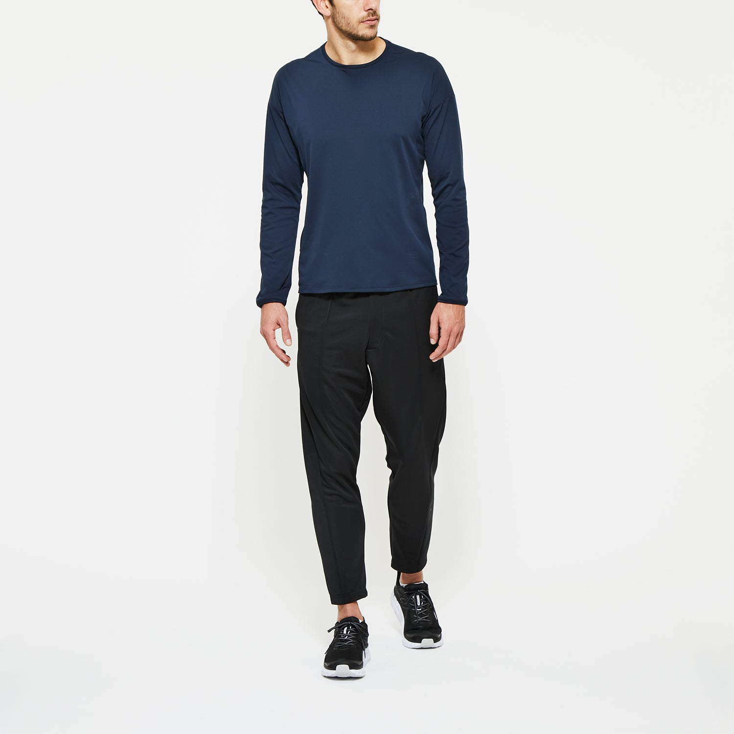 FLEECE VENTILATION CREW NECK SHIRT