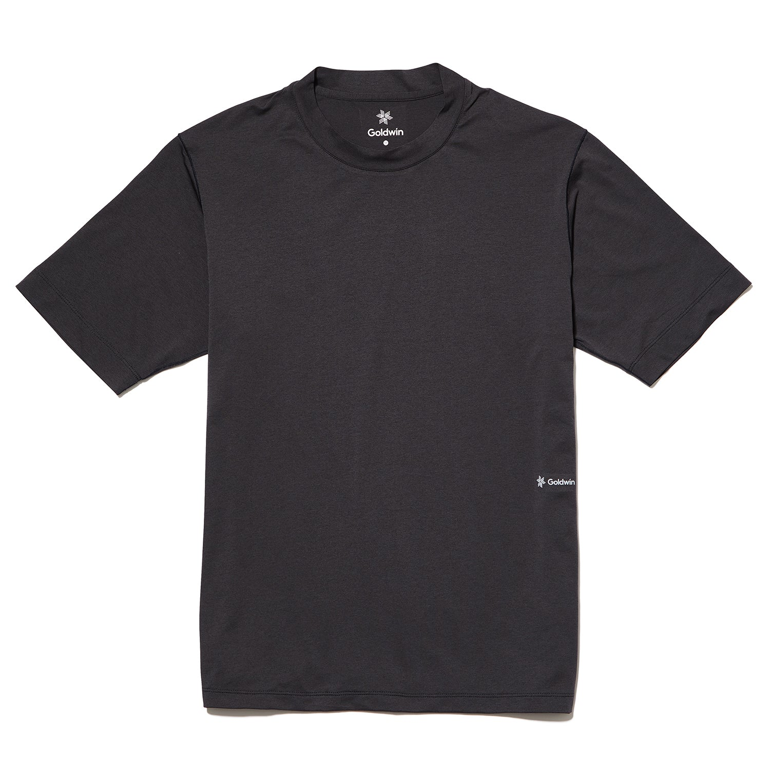STRETCH TEE GRAPHITE NAVY