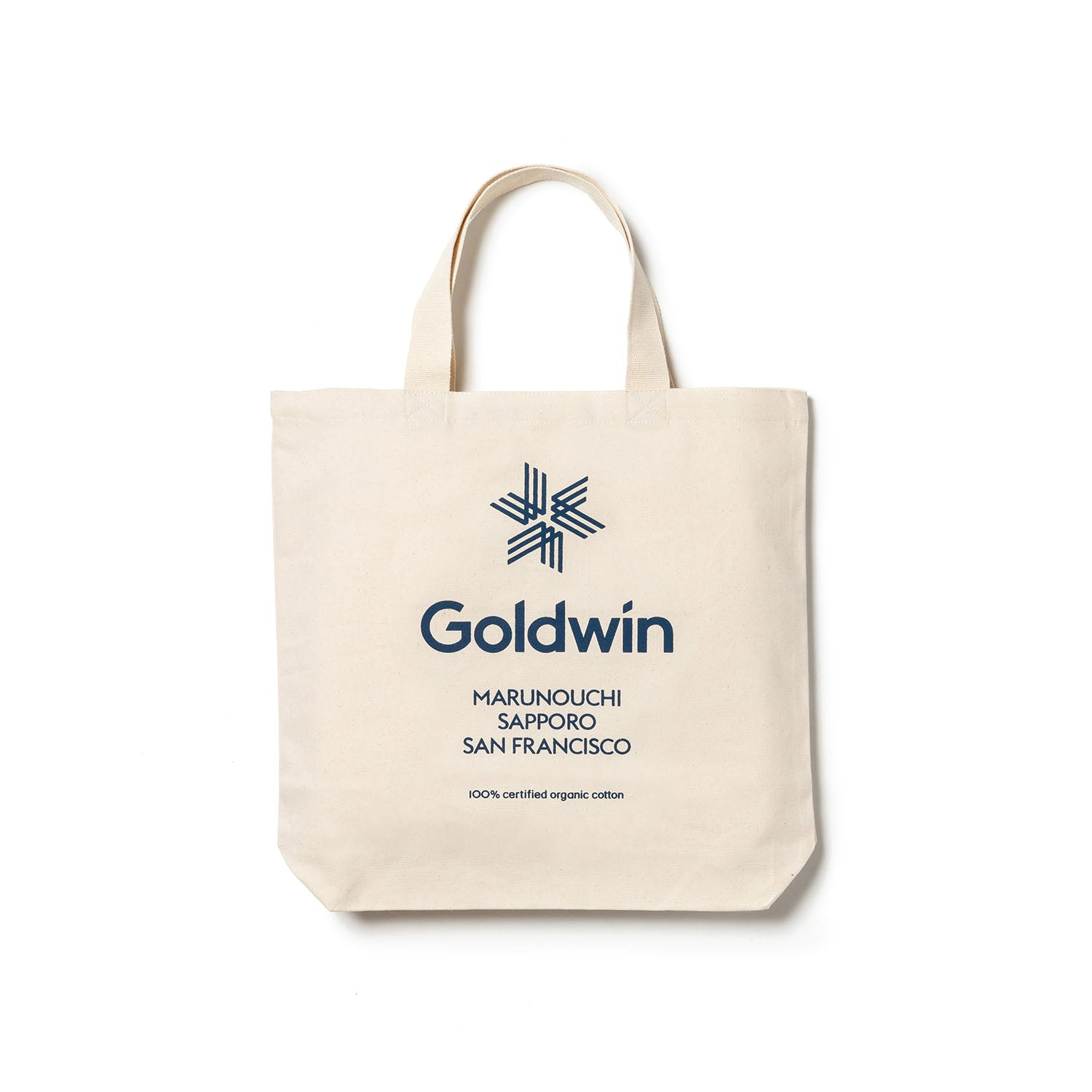 LOGO TOTE BAG WHITE