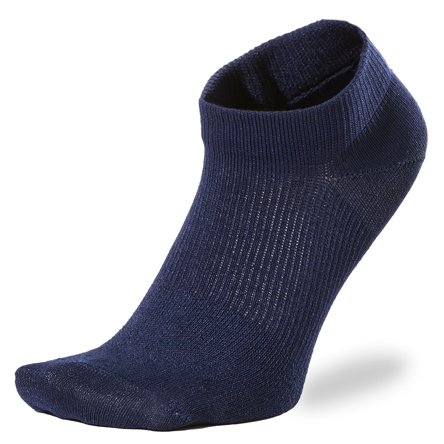 PAPER FIBER ARCH SUPPORT ANKLE SOCKS NAVY