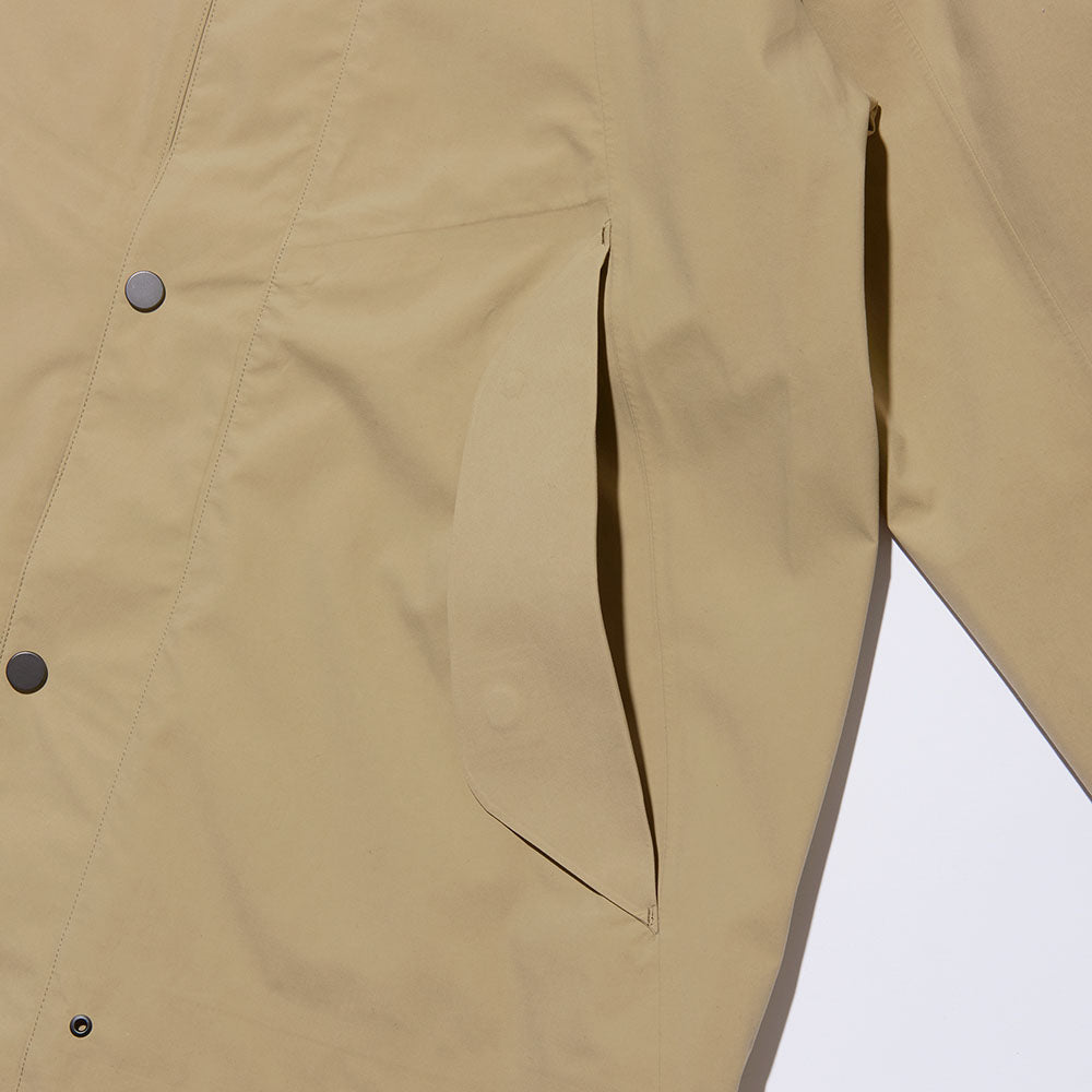 GORE-TEX BAL COLLAR COAT
