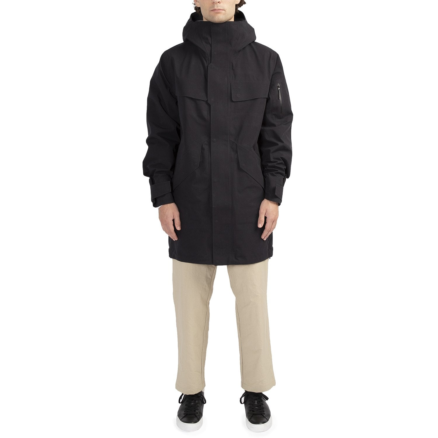 HOODED GORE-TEX COAT
