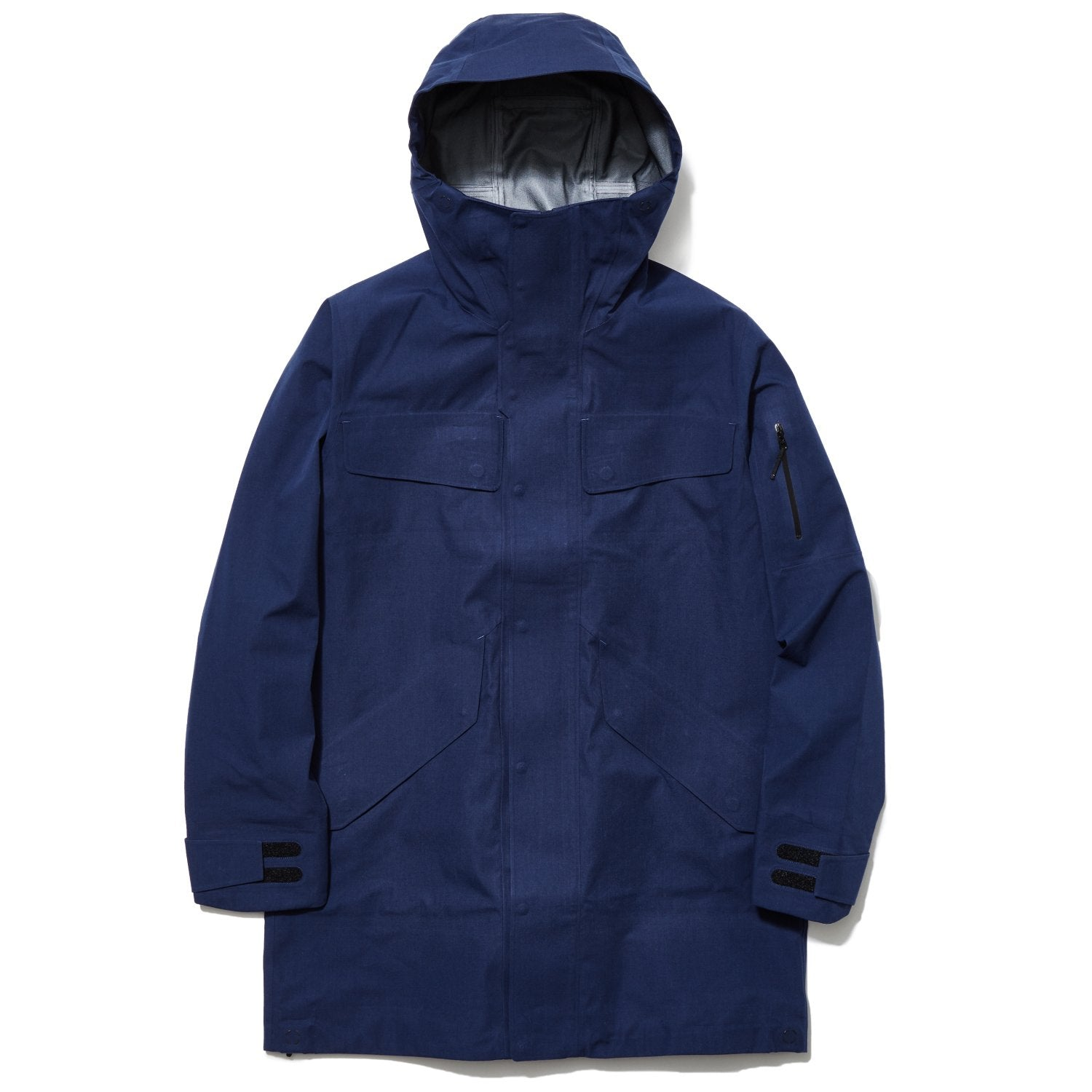 HOODED GORE-TEX COAT CYPRESS GREEN