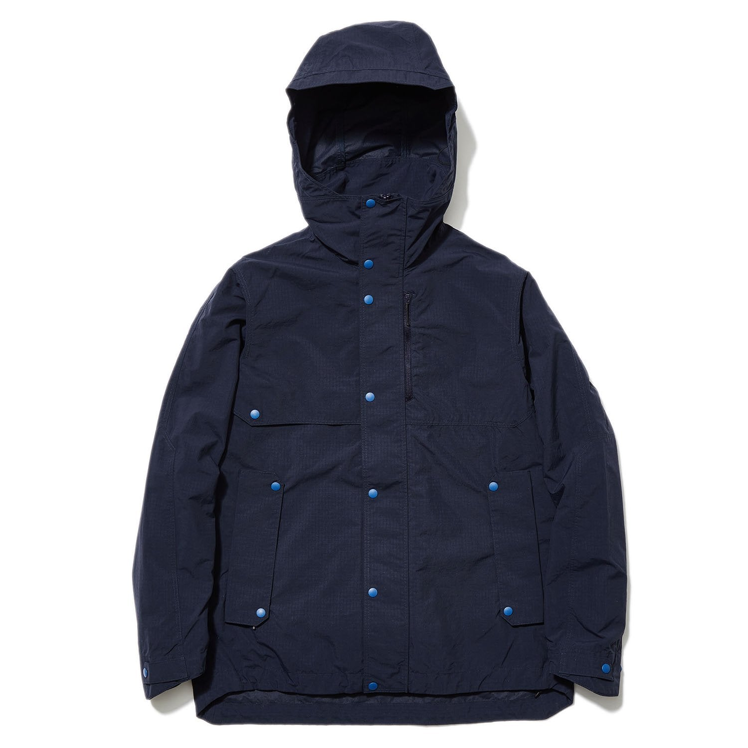 HOODED BLOUSON BLACK