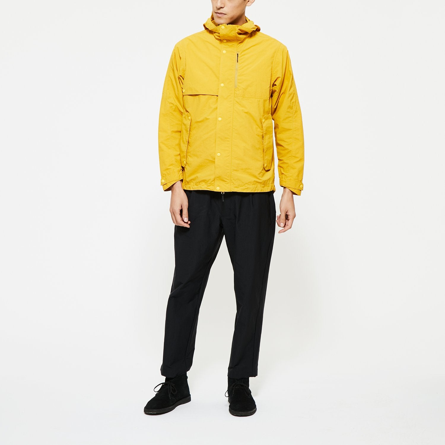 HOODED BLOUSON